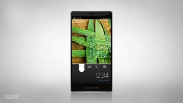 Sharp AQUOS Android Smartphone – Feel UX